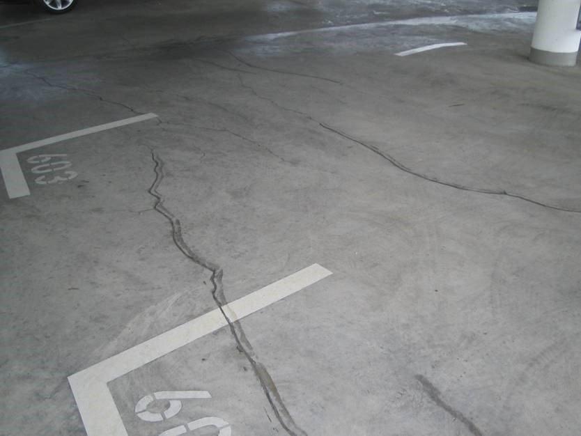Паркинг - ремонт пола