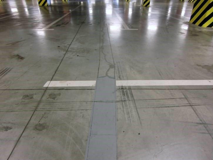 Ремонт пола паркинга