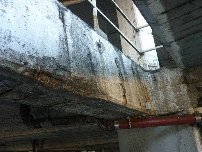 Паркинг ремонт железобетонных конструкций